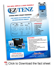 EZ-TENS Flyer Download